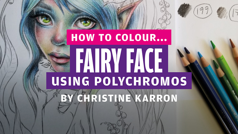 How to colour… fairy face