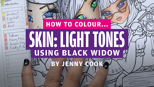 How to colour… skin: light tones