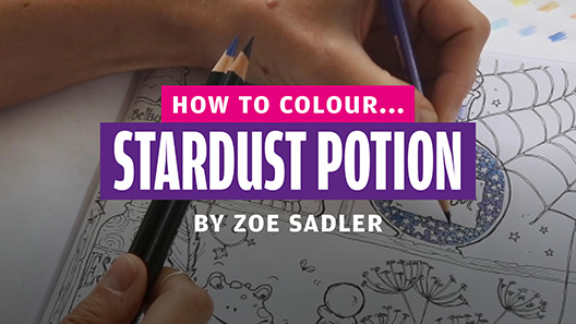 How to colour… stardust potion