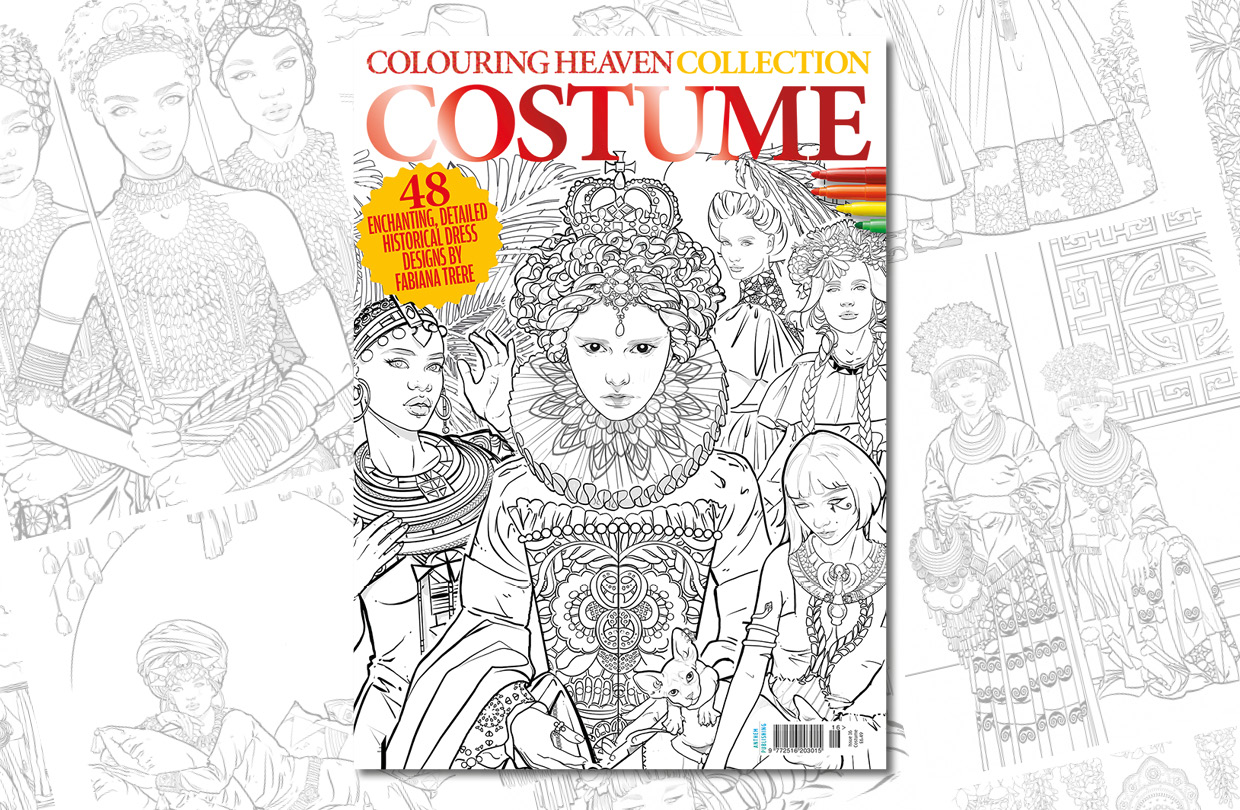 New Issue: Colouring Heaven Collection Costume