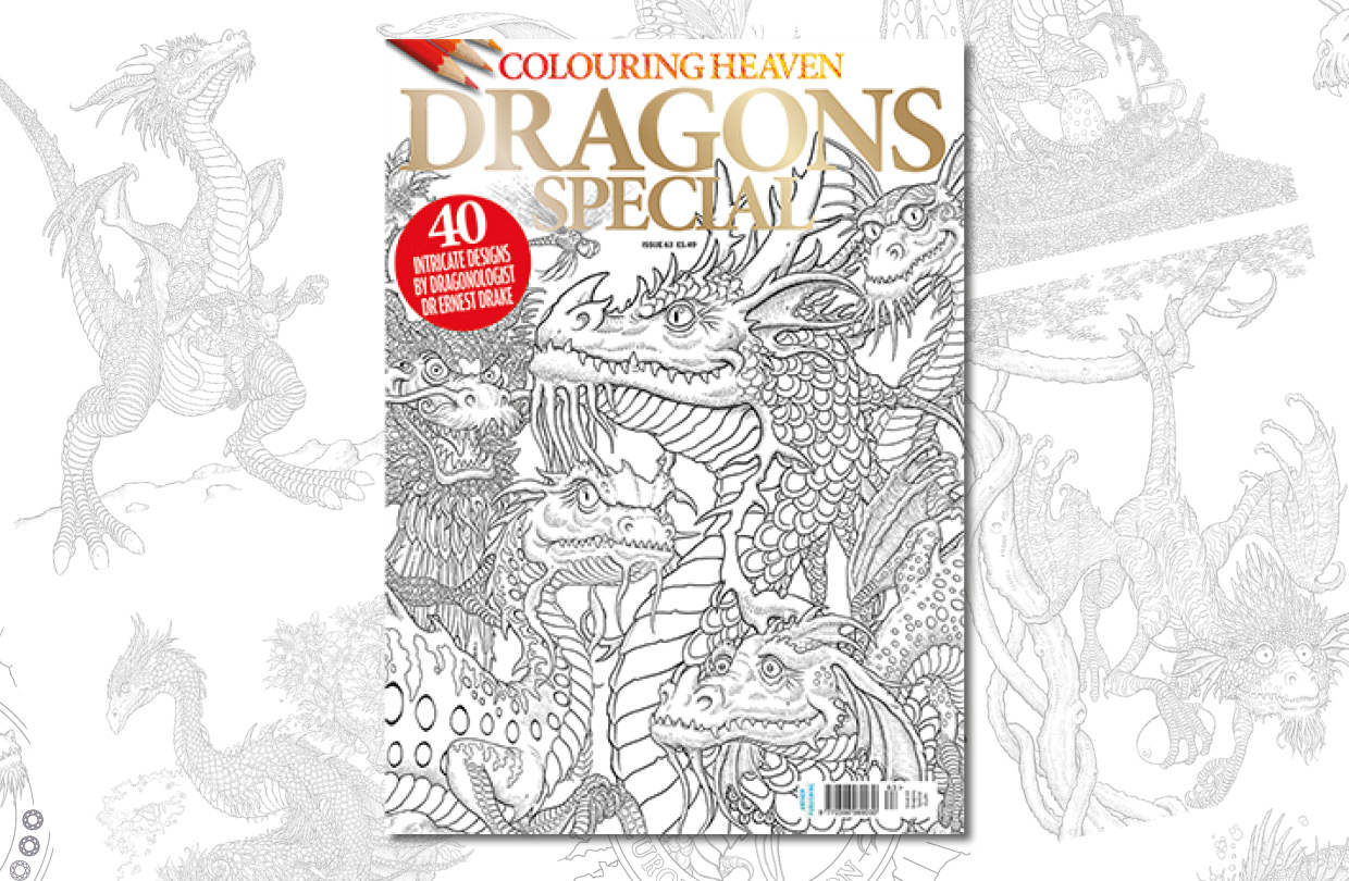 New Issue: Colouring Heaven Dragons Special