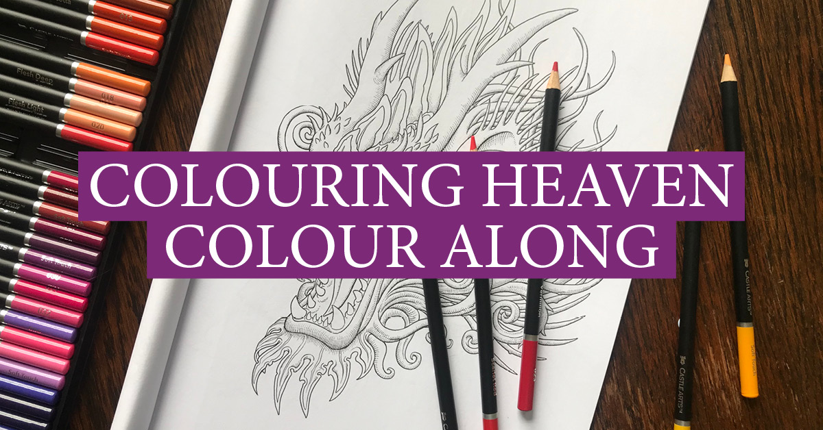 Colouring Heaven Dragons Special Colour Along