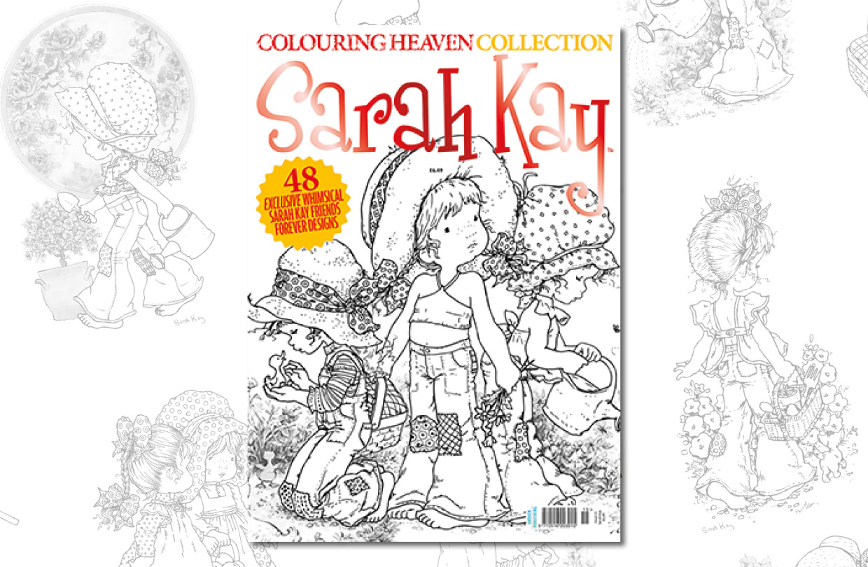 New Issue: Colouring Heaven Collection Sarah Kay