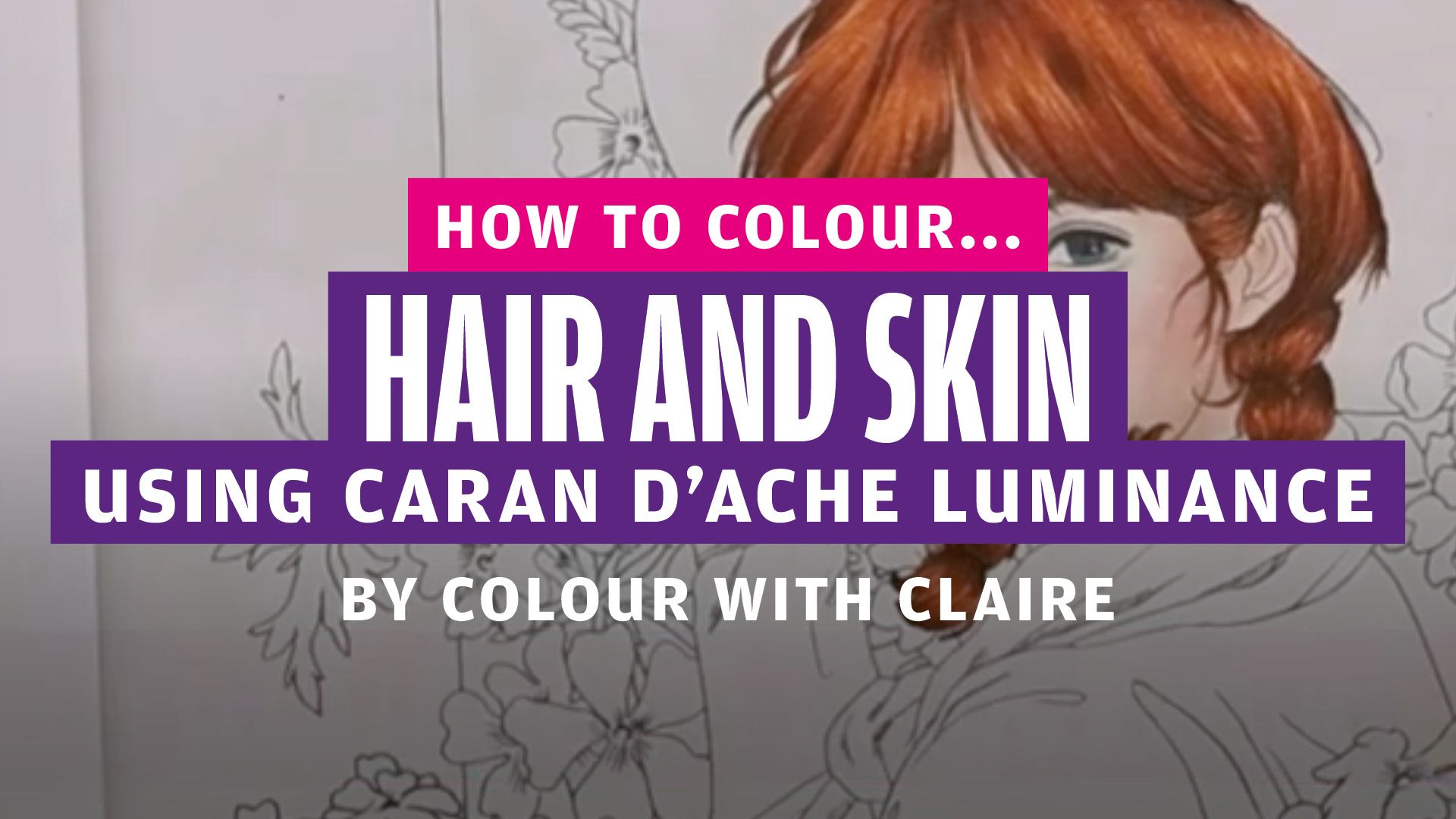 How to colour… hair and skin