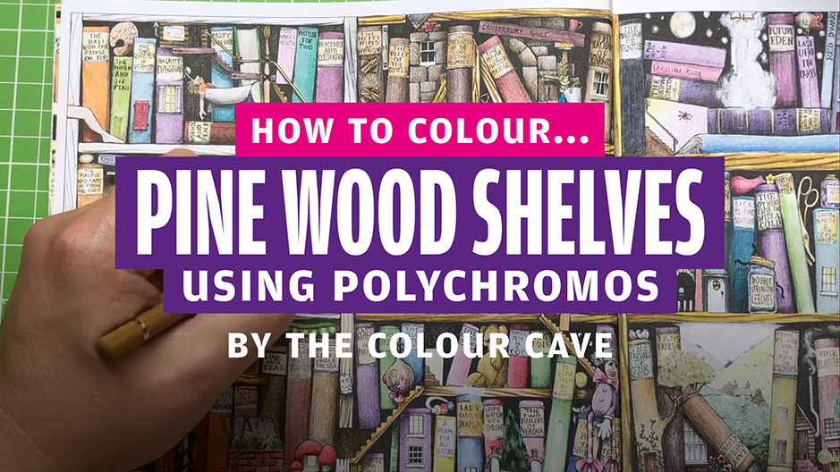 How to colour… pine wood effect
