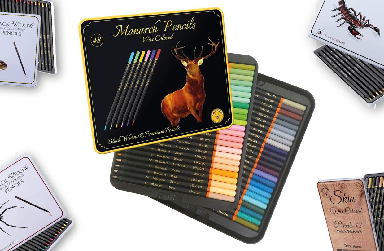 New Black Widow Pencils Released in US