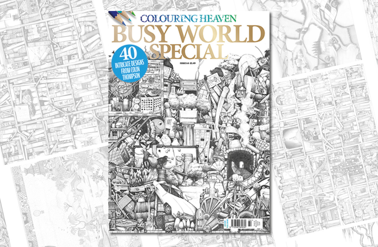 New Issue: Colouring Heaven Busy World Special