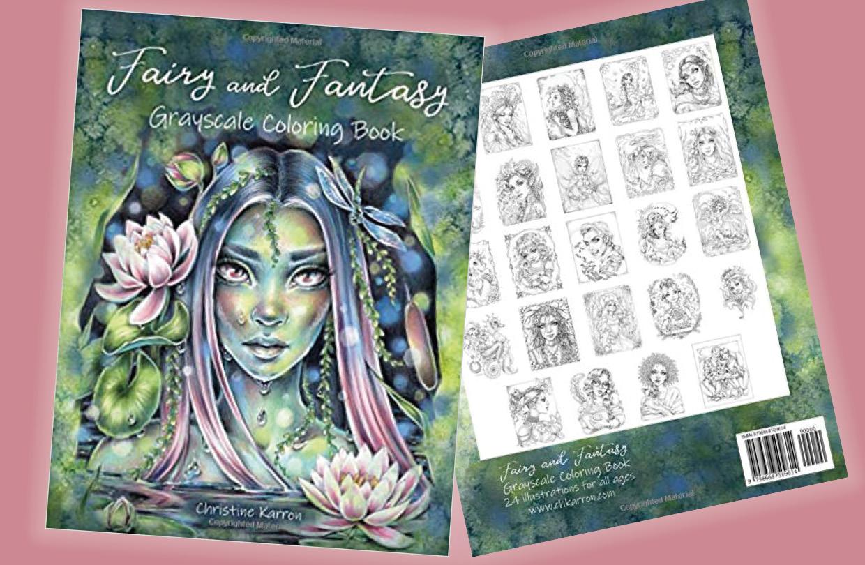 New Christine Karron Colouring Book