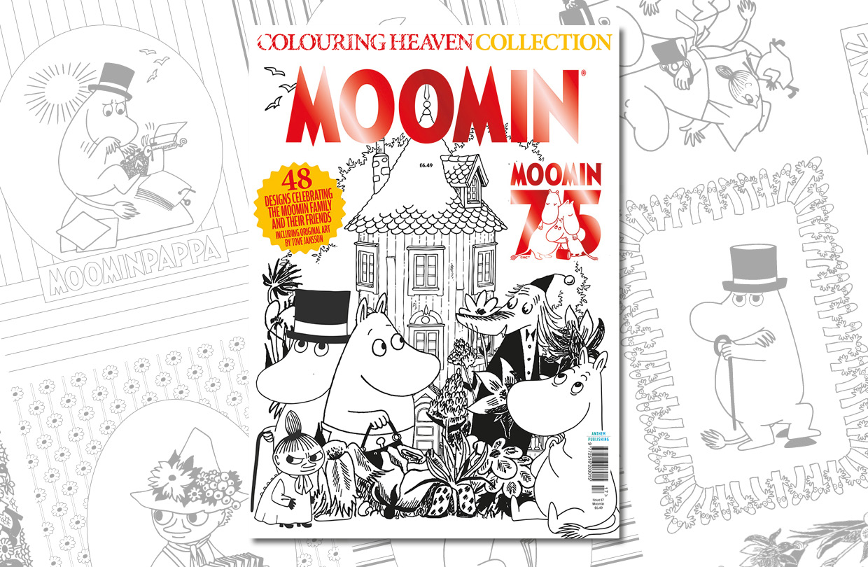 New Issue: Colouring Heaven Collection Moomin