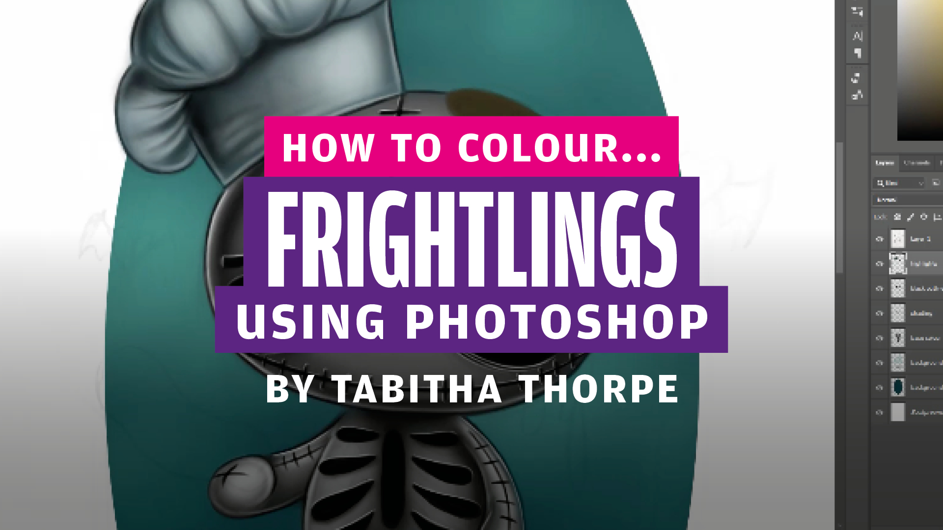 How to colour…Frightlings