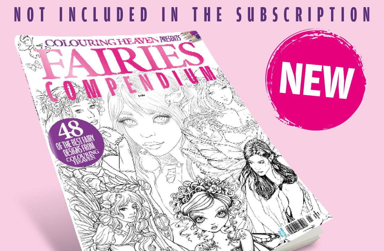 Pre-order Colouring Heaven Fairies Compendium!