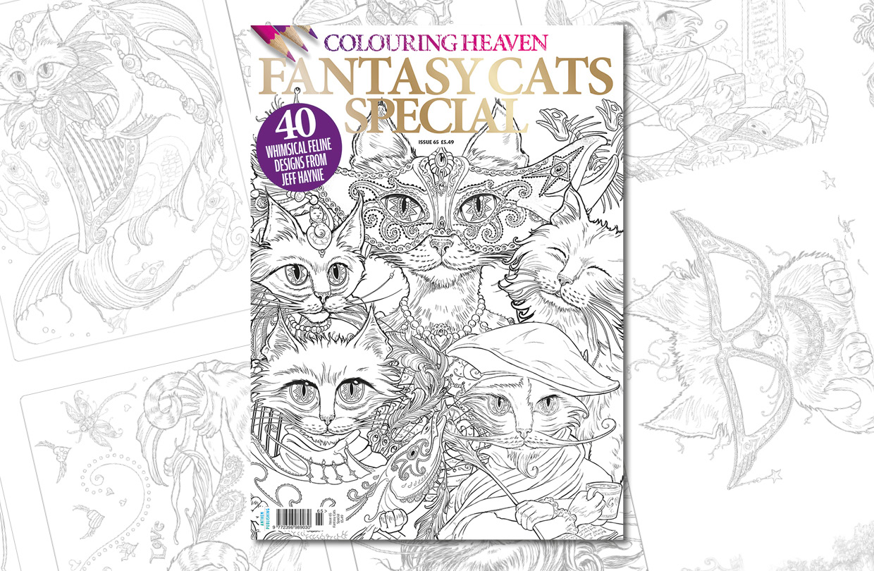 New Issue: Colouring Heaven Fantasy Cats Special