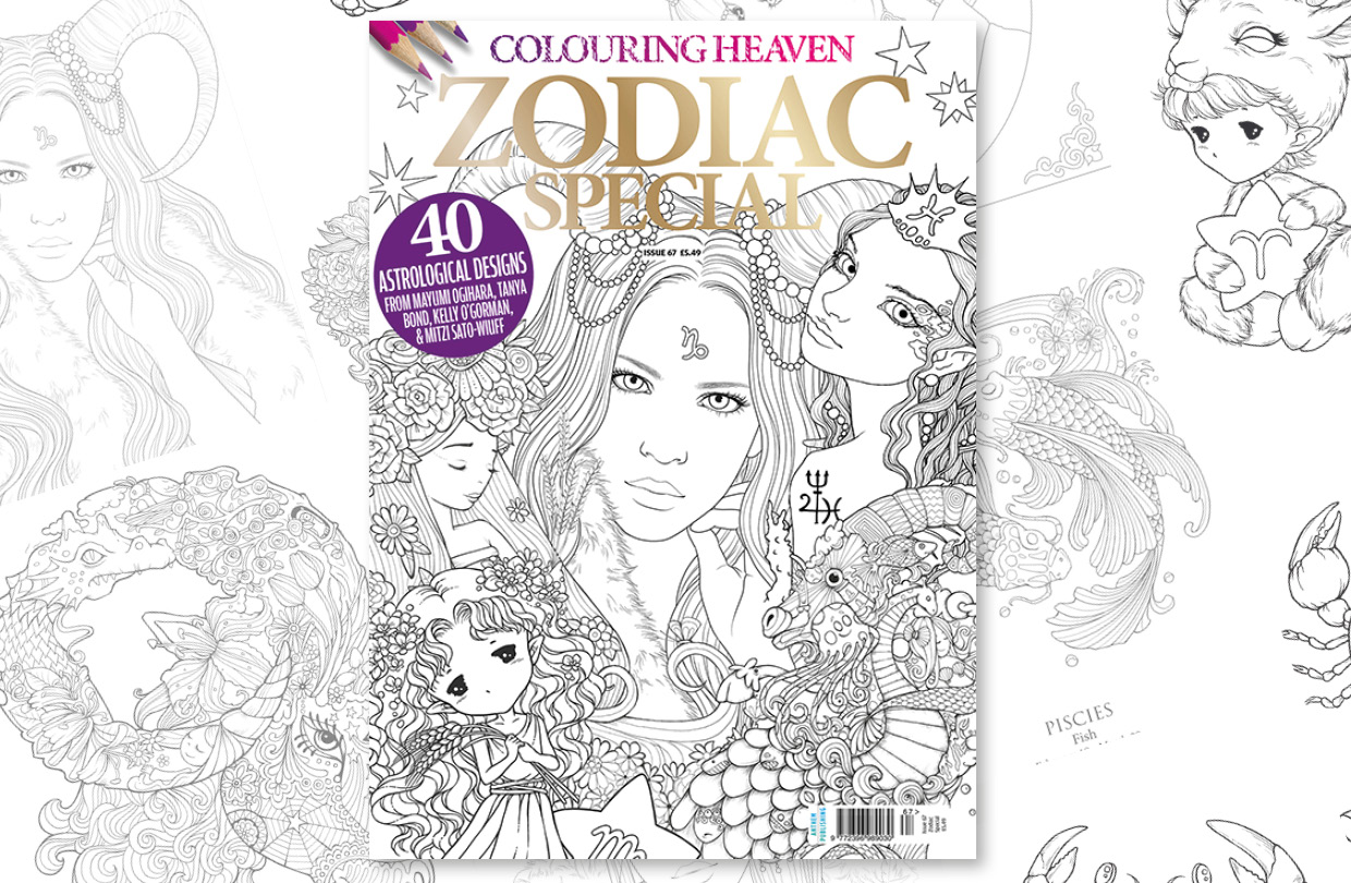 New Issue: Colouring Heaven Zodiac Special