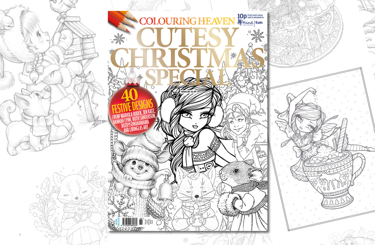New issue: Colouring Heaven Cutesy Christmas Special