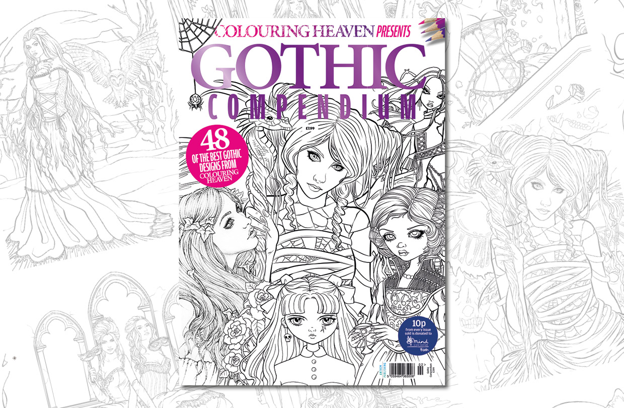 New Issue: Colouring Heaven Presents Gothic Compendium