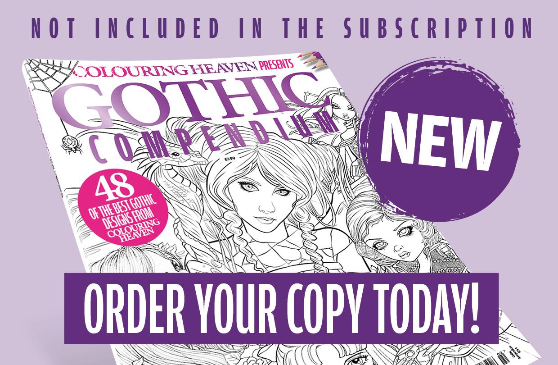 Pre-order Colouring Heaven Gothic Compendium!