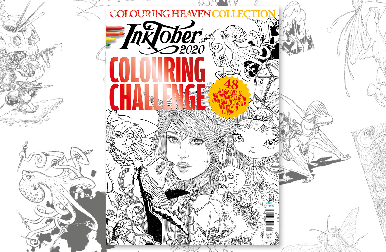 New Issue: Colouring Heaven Collection Inktober