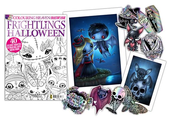 Win a bundle of Frightlings goodies!