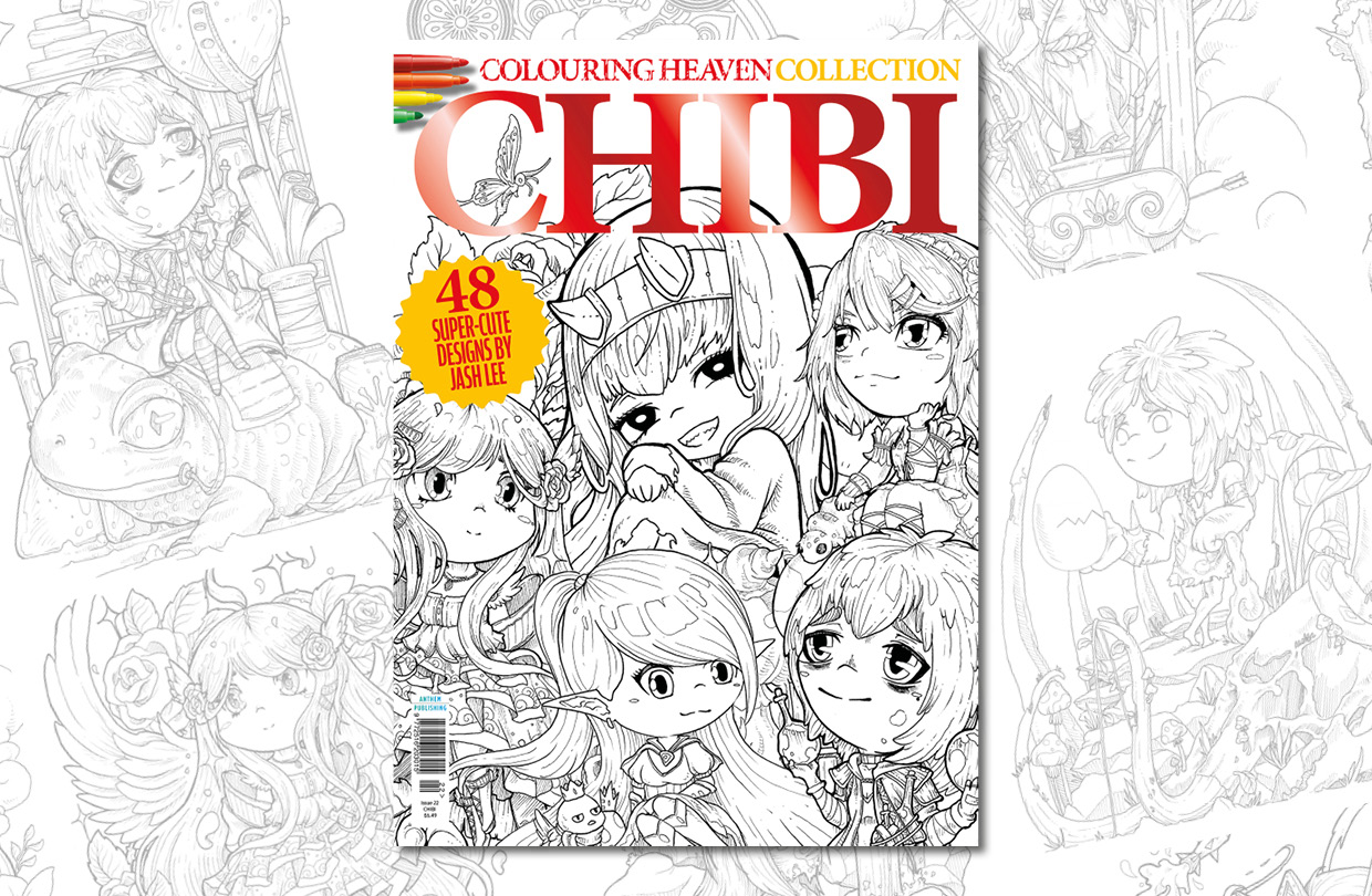 New Issue: Colouring Heaven Collection Chibi