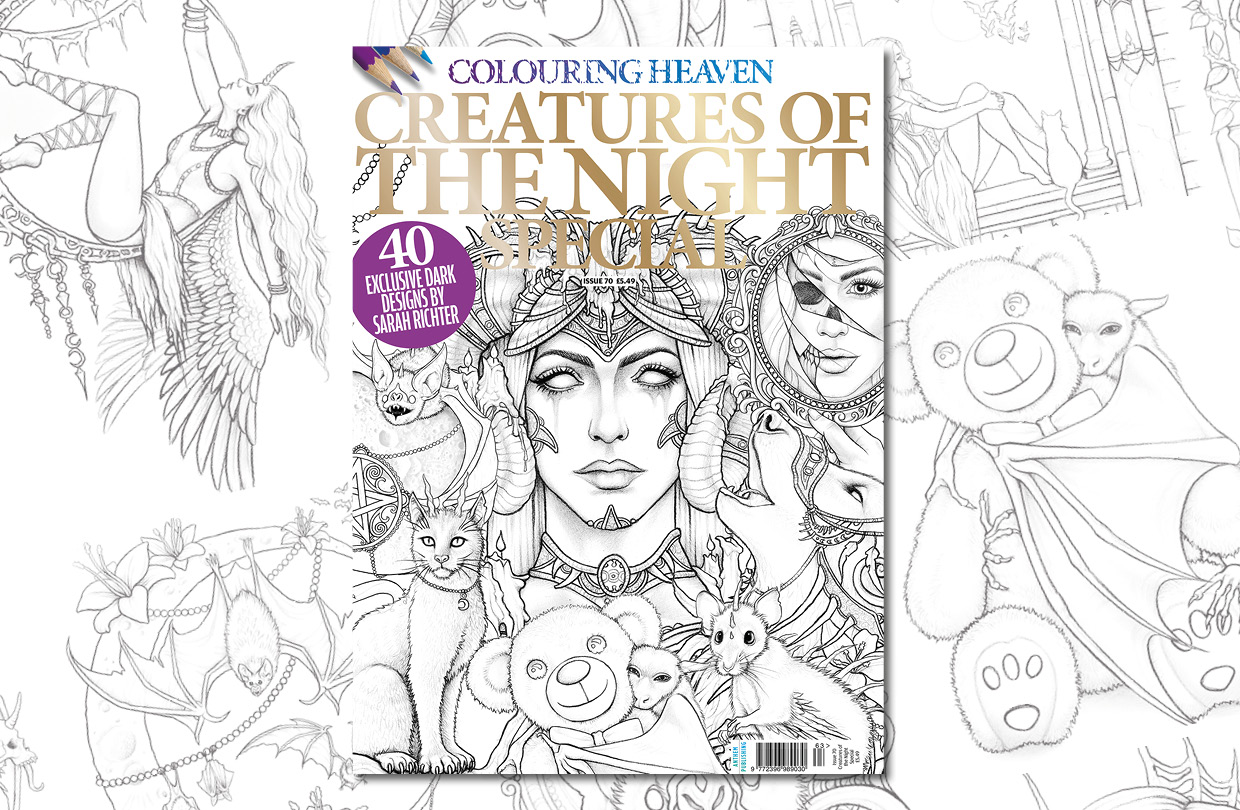 New Issue: Colouring Heaven Creatures of the Night Special