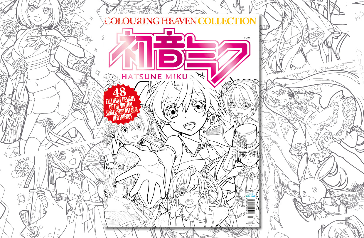 New Issue: Colouring Heaven Collection Hatsune Miku