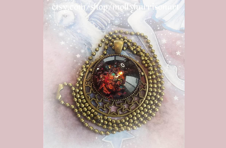 Molly Harrison creates stunning jewellery