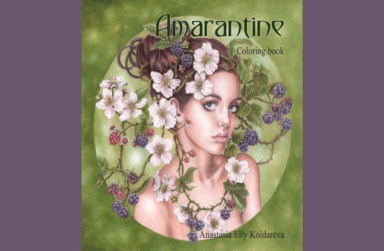Anastasia Koldarevato release a new colouring book
