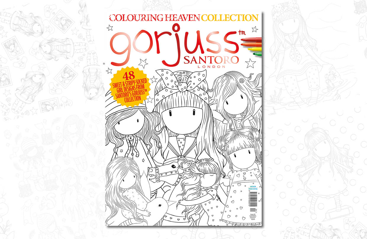 News issue: Colouring Heaven Collection Santoro Gorjuss issue™