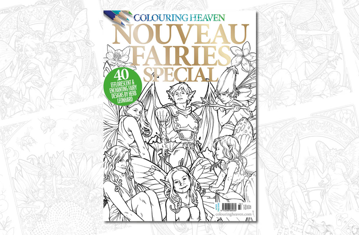 New issue: Colouring Heaven Nouveau Fairies Special