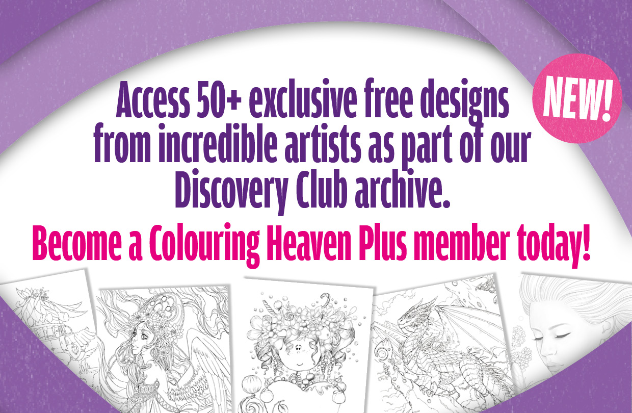 How to get access to the Colouring Heaven Discovery Club archive