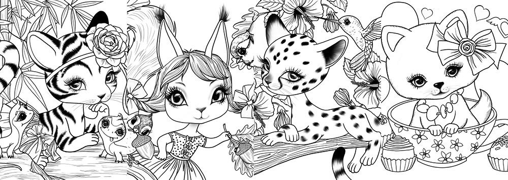 cute baby animal designs