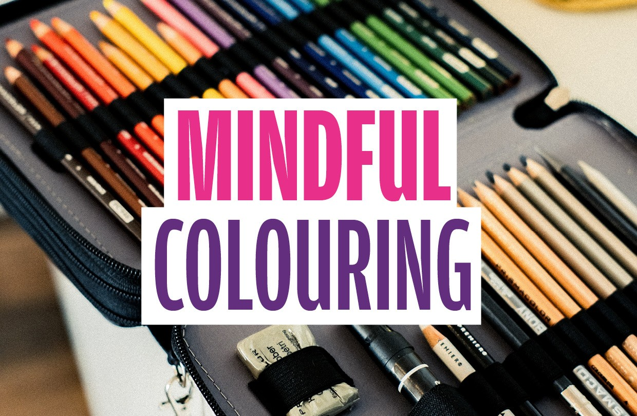 Mindful Colouring: Stress Awareness Month