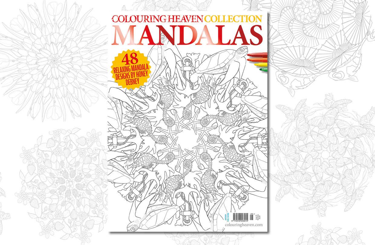 New issue: Colouring Heaven Collection Mandalas issue