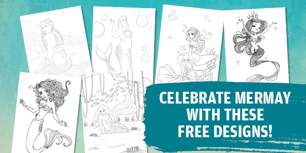 Celebrate MerMay with six free designs