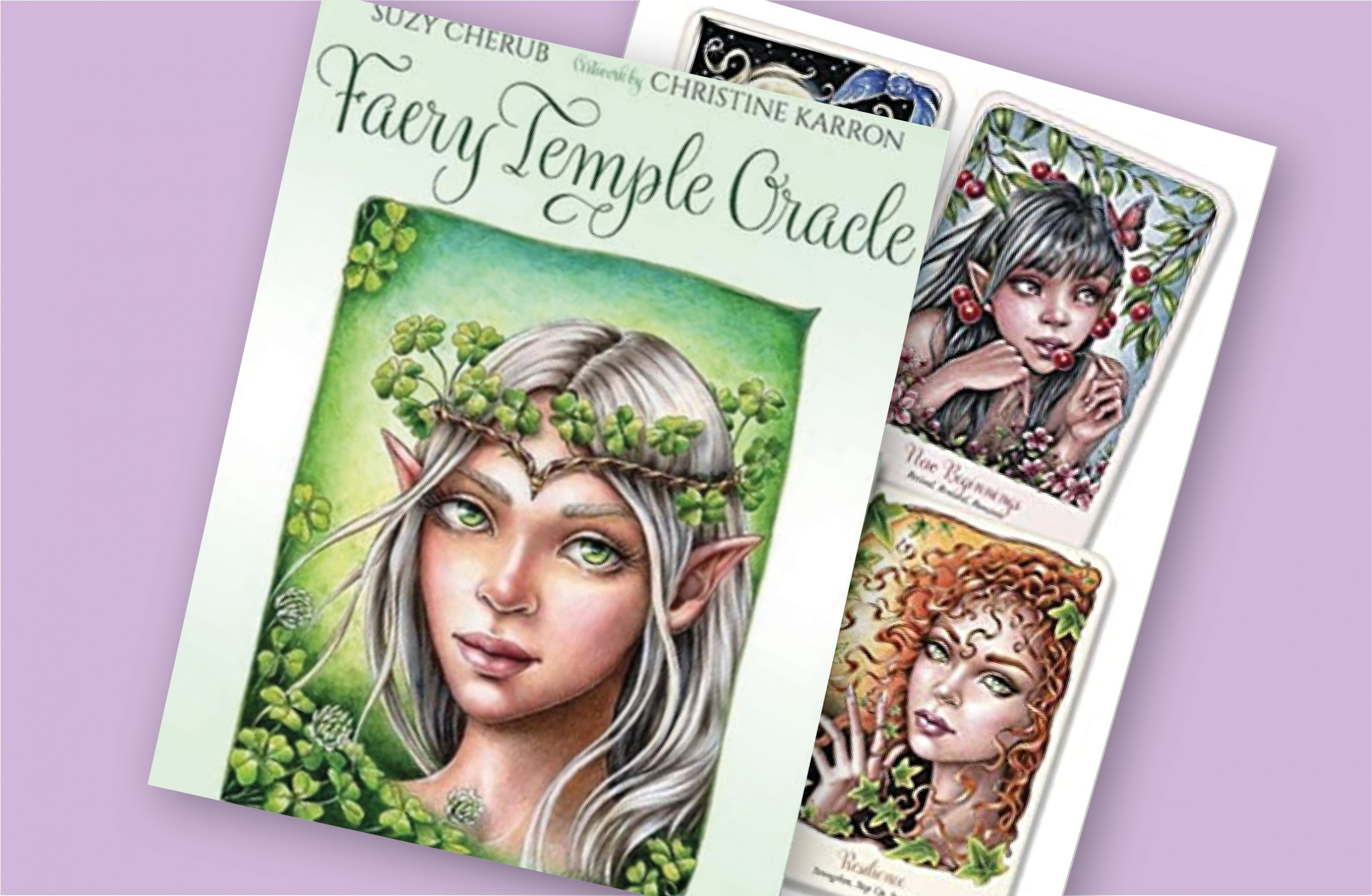 New Faery Oracle Card Deck from Christine Karron!