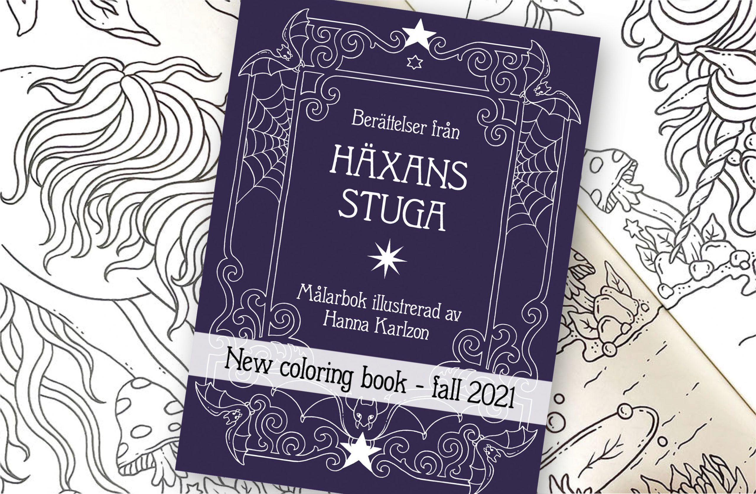 Hanna Karlzon reveals new book cover and title!