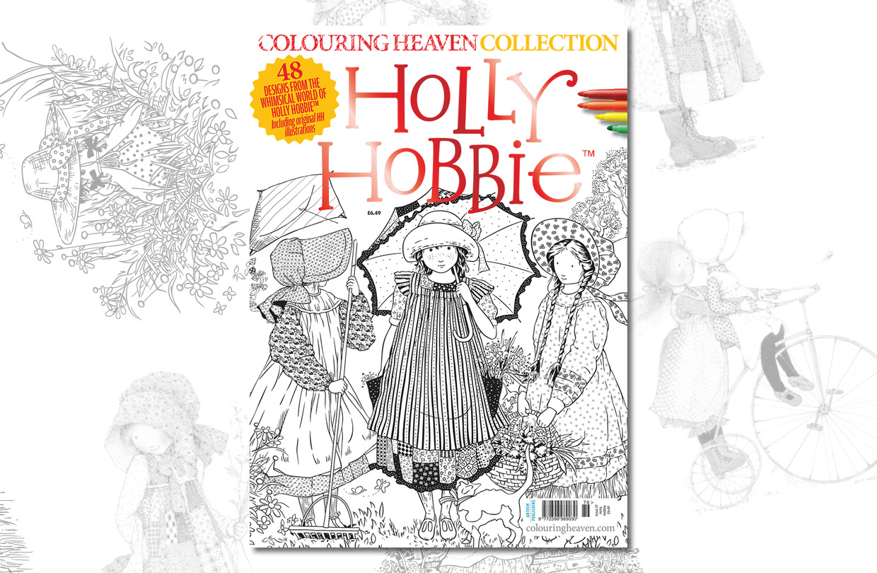 New Issue: Colouring Heaven Collection Holly Hobbie ™