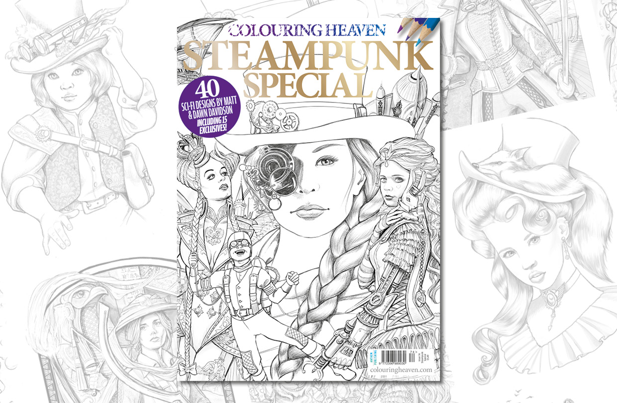 New Issue: Colouring Heaven Steampunk Special