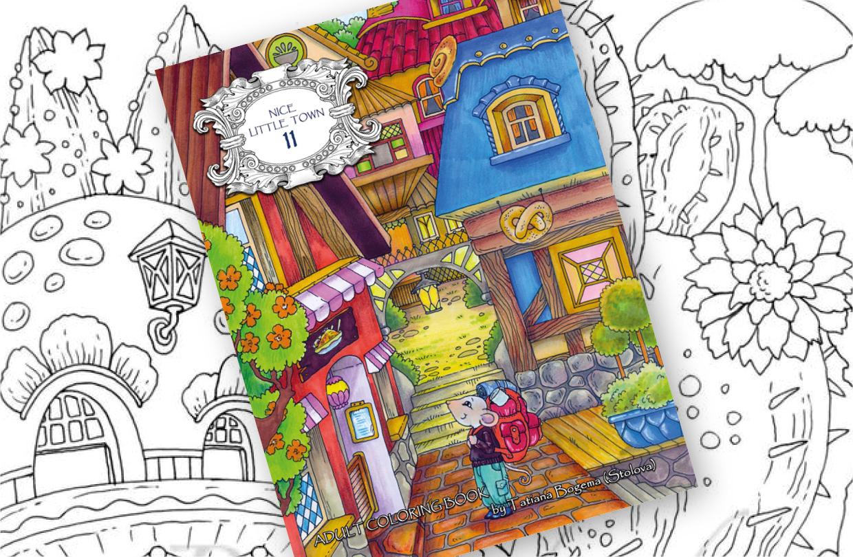 Tatiana Bogema releases new colouring book!