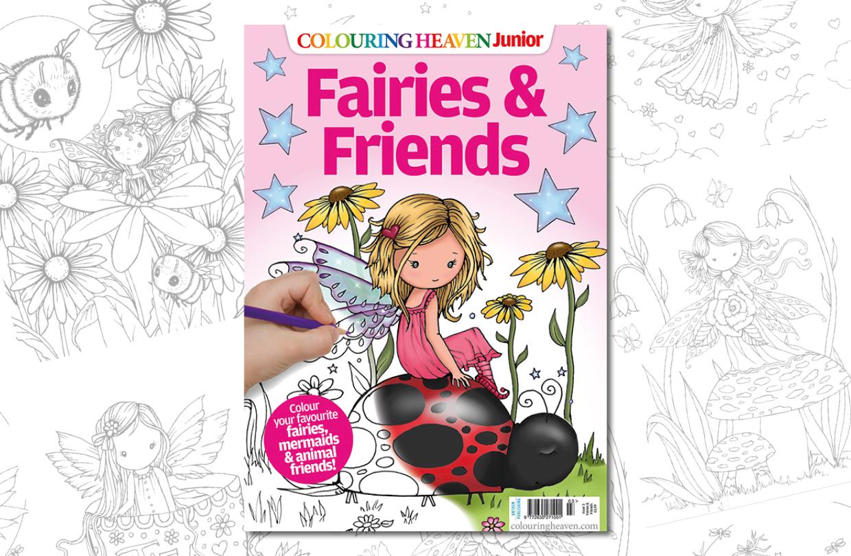 New Issue: Colouring Heaven Junior Fairies & Friends