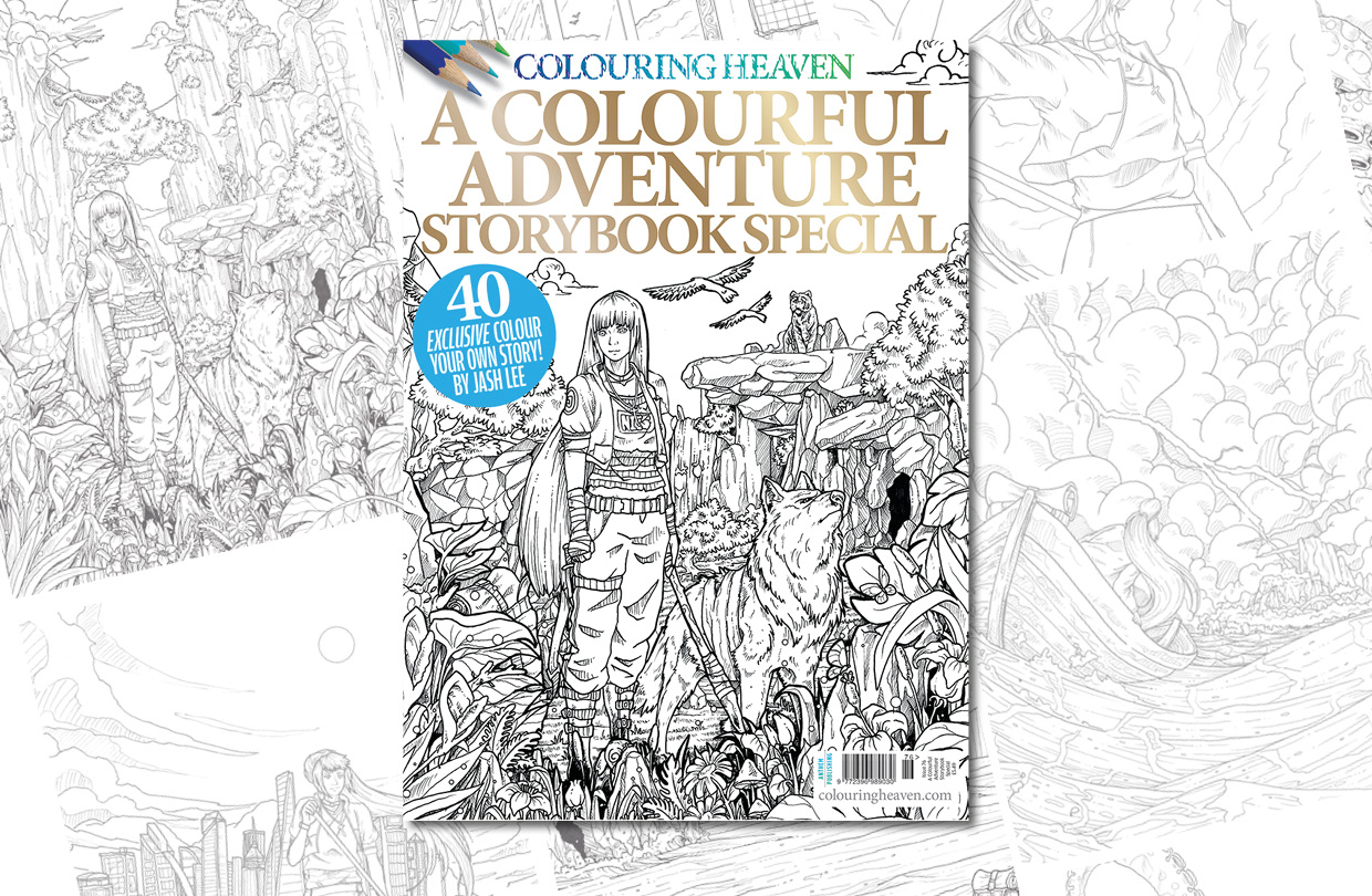 New Issue: Colouring Heaven A Colourful Adventure Storybook Special