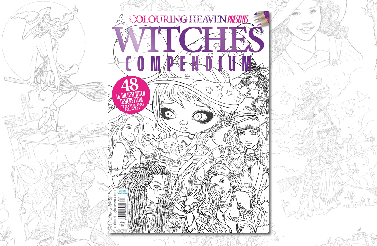 New issue: Colouring Heaven Presents Witches Compendium