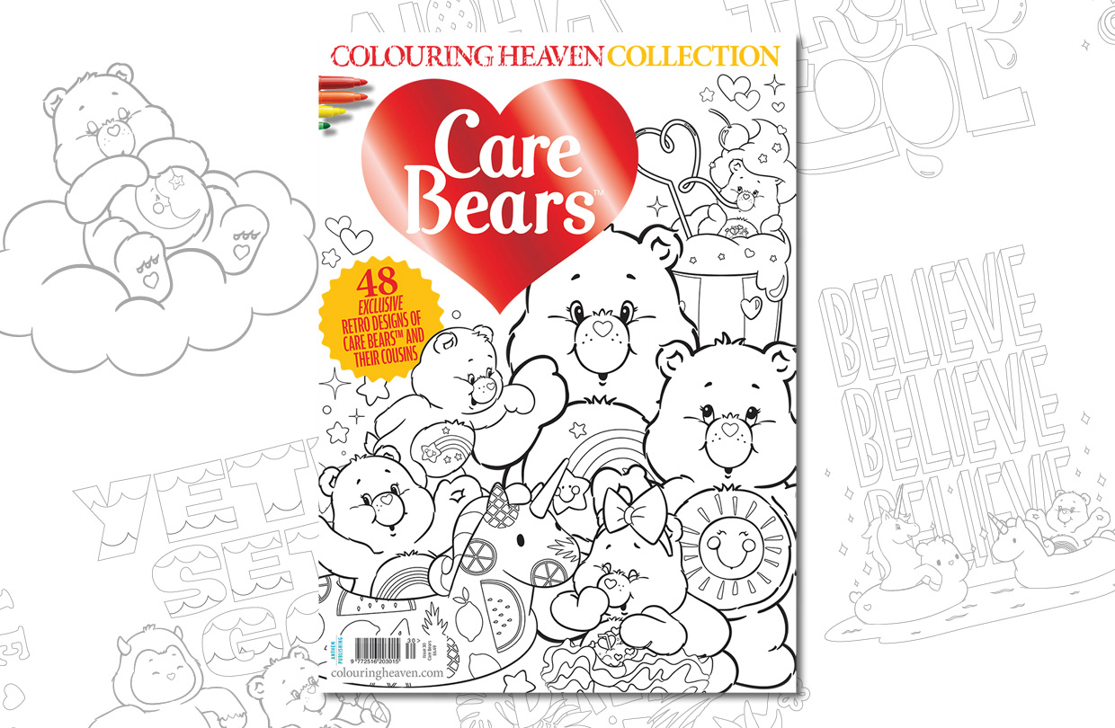 New Issue: Colouring Heaven Collection Care Bears™