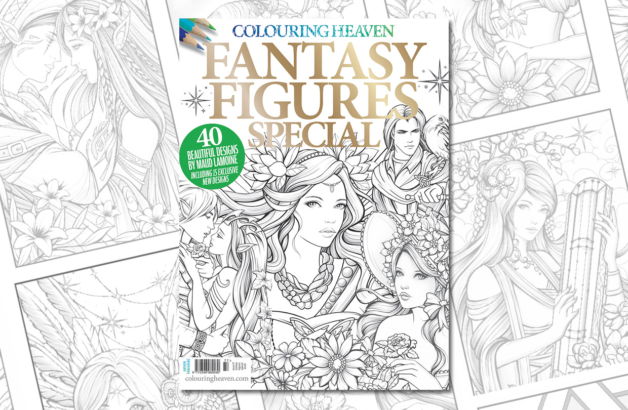New Issue: Colouring Heaven Fantasy Figures Special
