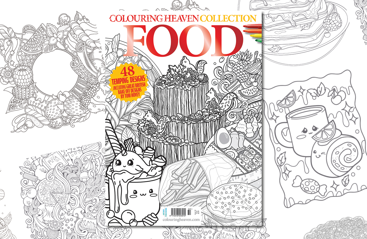 New issue: Colouring Heaven Collection Food
