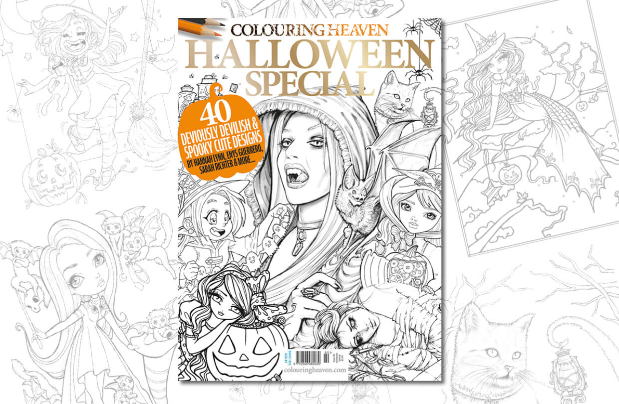 New Issue: Colouring Heaven Halloween Special