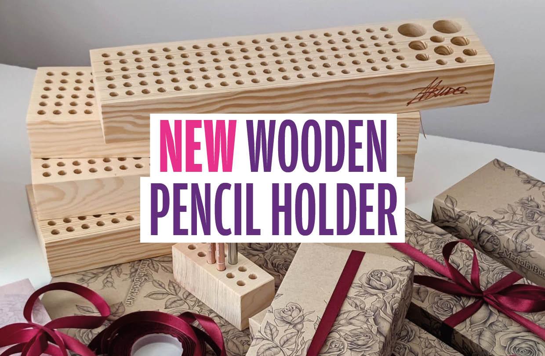 Innovative pencil holder design from Mariola Budek