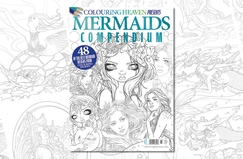 New issue: Colouring Heaven Presents Mermaids Compendium