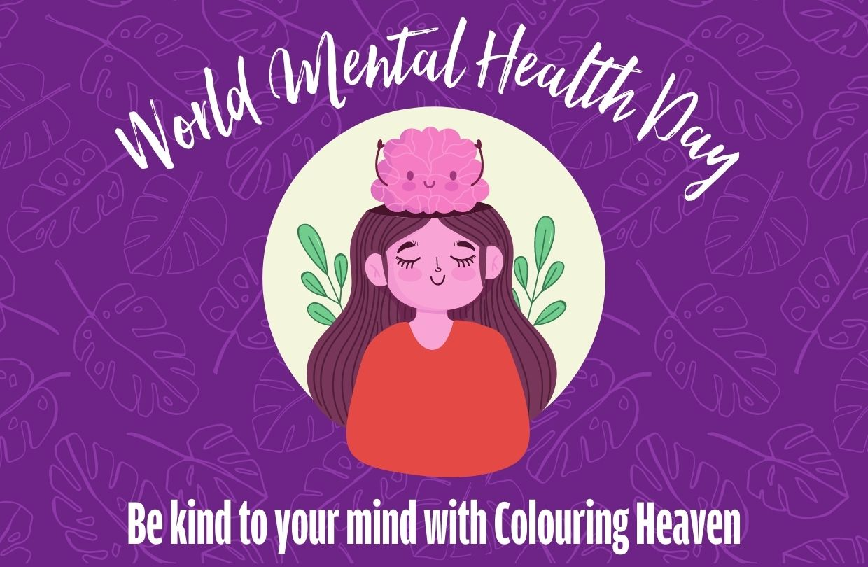 Be kind to your mind with Colouring Heaven